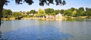 Le lac, les parcs et jardins