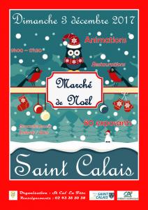 Affiche - Marché de Noël 2017-1