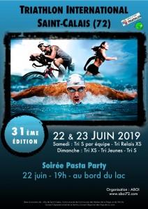 31ème triathlon international de St-Calais