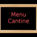 menu cantine