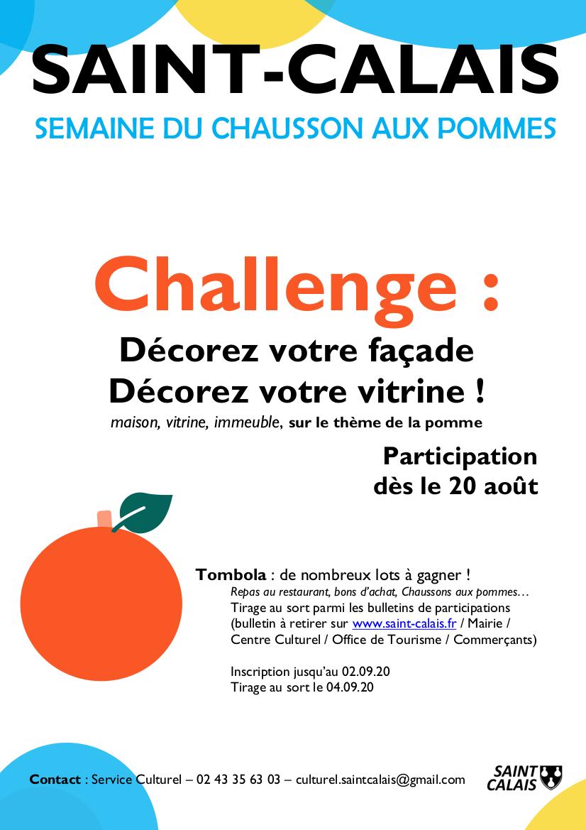 Challenge décorez vos façades (affiche)
