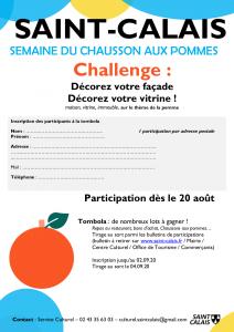 Challenge décorez vos façades (bulletin tombola)