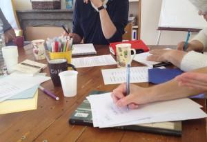 Atelier d'écriture, jeux avec les mots