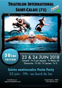 30ème Triathlon International de Saint-Calais @ Au Lac de Saint-Calais