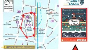 Marché de Noël et plan de circulation