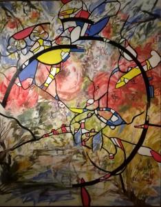 "Exposition ""Période vitrail 2013 - 2015"""