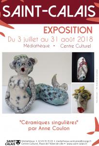 Exposition de sculptures et céramiques