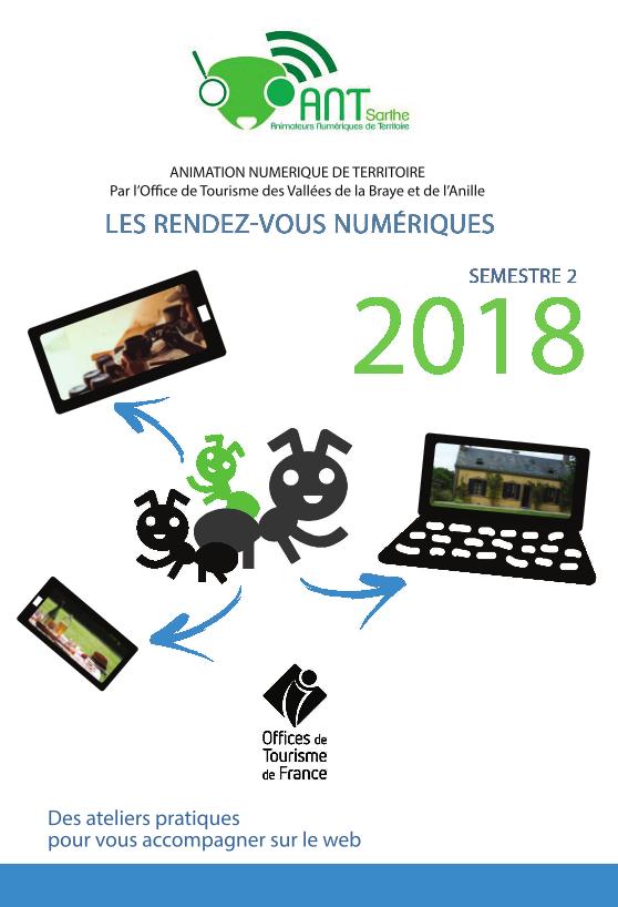 Atelier numerique - Programme 2nd semestre 2018