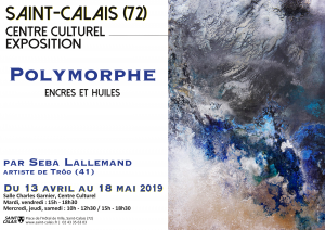"Exposition ""Polymorphe"" par Seba Lallemand"