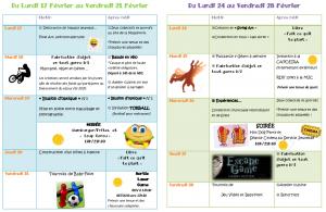 Programme Février2020