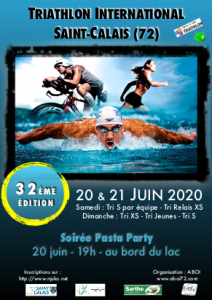 [Report à 2021] Triathlon International - Organisé par l'Anille Braye Omnisports Intercommunal