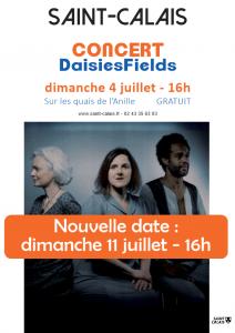 Concert - Daisiesfields @ Quai Jean-Jaurès