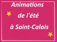 Programme des animations de l'été à Saint-Calais