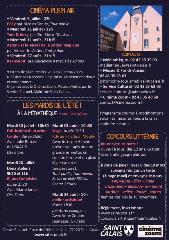 programme animations juillet aout centre culturel page 2